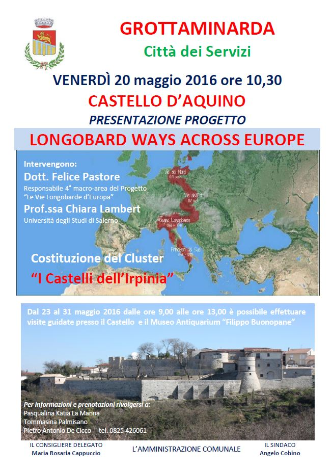 LONGOBARD WAYS ACROSS EUROPE